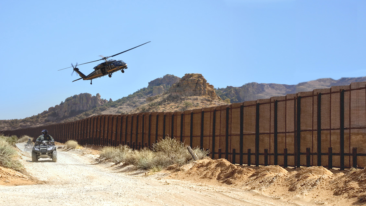 Border wars deportation down a nod to the gods for Border wall